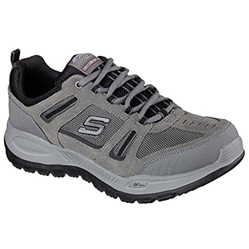 Skechers Relaxed Fit Double Down Mens Sneakers Charcoal/Black 12