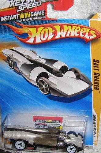 2010 HOT WHEELS NEW MODELS KEYS TO SPEED 31/44 BLACK & WHITE SALT SHAKER by Hot Wheels