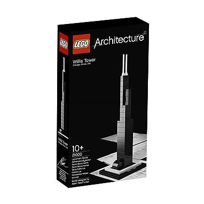 Sears Tower Chicago Illinois USA LEGO 21000 ORIGINAL: Toys & Games