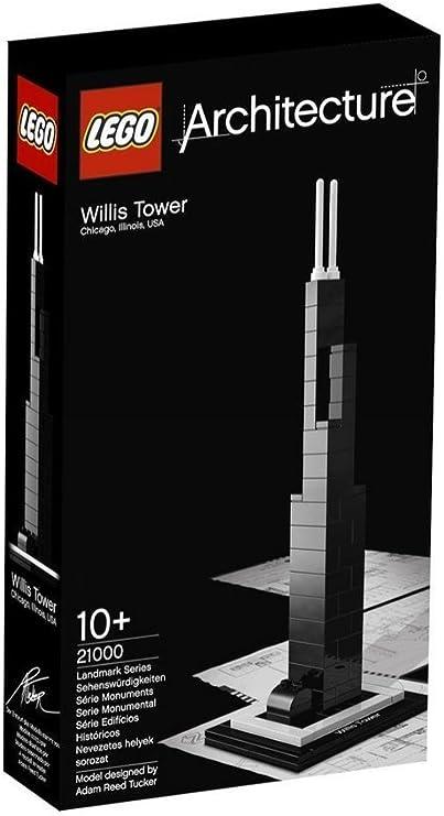 LEGO Architecture 21000 Torre Willis (Chicago): LEGO: Amazon.es: Juguetes y juegos