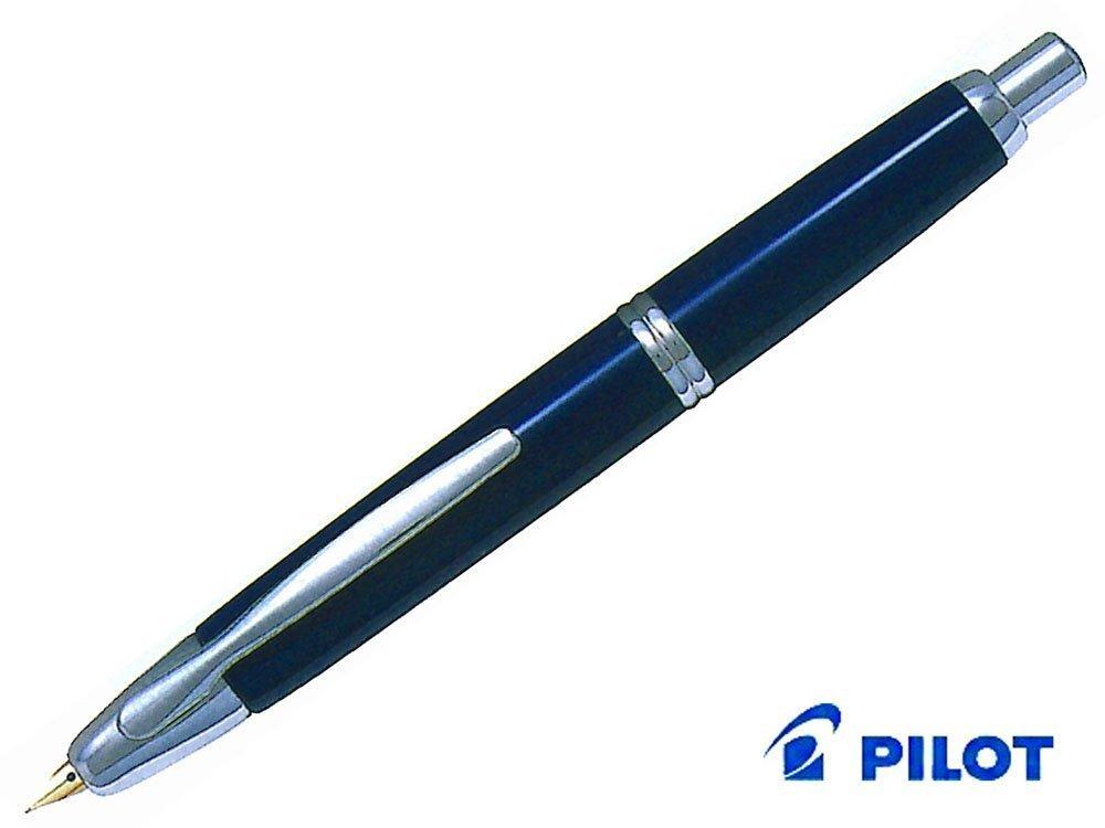 PILOT ''Capless (special alloy nib) / Dark Blue'' [nib: Fine] by Pilot (Image #1)