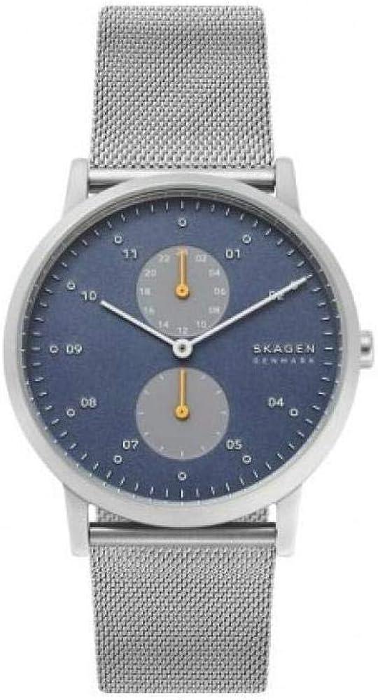 Skagen Reloj Analógico para Hombre de Cuarzo con Correa en Acero Inoxidable SKW6525