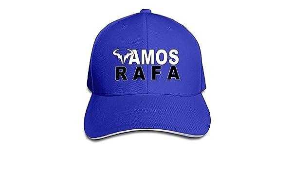 Rafael Nadal Rafa Vamos Logo Beanie Cap Ash: Amazon.es: Deportes y aire libre