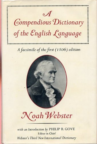 A compendious dictionary of the English language (A Compendious Dictionary Of The English Language)