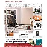 Sportstech-Vogatore-RSX400-di-Ottima-qualita-Inclusa-lApp-per-Smartphone-Compatibile-con-la-Cintura-per-pulsazioni-Ripiegabile-Ottimo-per-lutilizzo-in-casa-con-magnetoresistenza-Regolabile