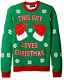 Blizzard Bay Men's This Guy Loves Xmas, Green, Large