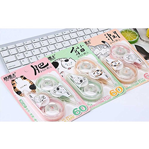 Studyset 2PCS 30M Cartoon Shell Correction Tape Practical Stationery School Supplies