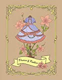 img - for Flowers & Fashion: An Adult Coloring Book for Fashionistas (Fashion Coloring Book for Adults and Teens) book / textbook / text book