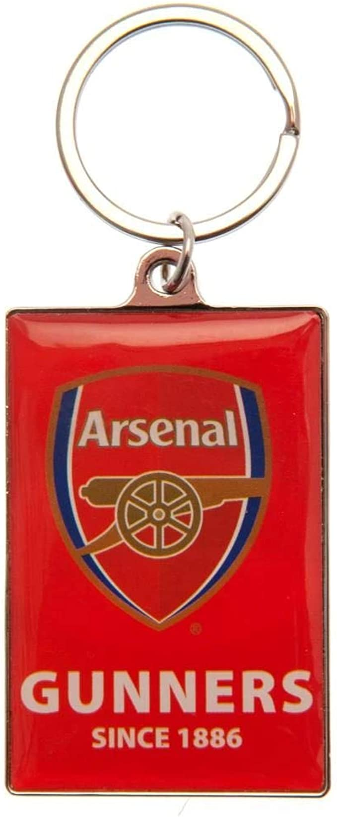 Official Large Metal Arsenal F C Key Ring on a Chain *secret santa*
