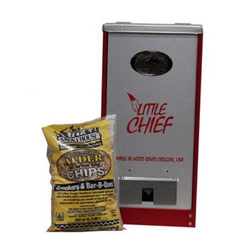 SmokeHouse Red Little Chief Front Load Smoker (Smokehouse Products Jerky)