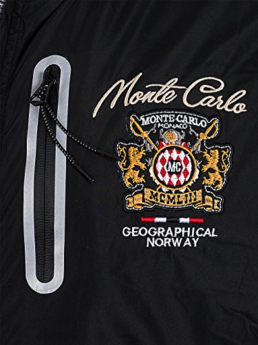 Hombre Norway Constantine Nueva Negro Coleccion Bomber Geographical Chaqueta zw75azq
