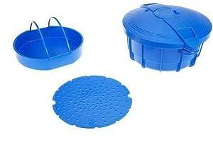 Prepology 4qt Microwave Pressure Cooker - Blue