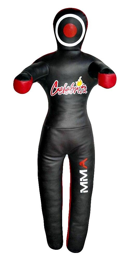 Celebrita MMA Judo Leather Grappling Dummy Hanging with 2 hooks