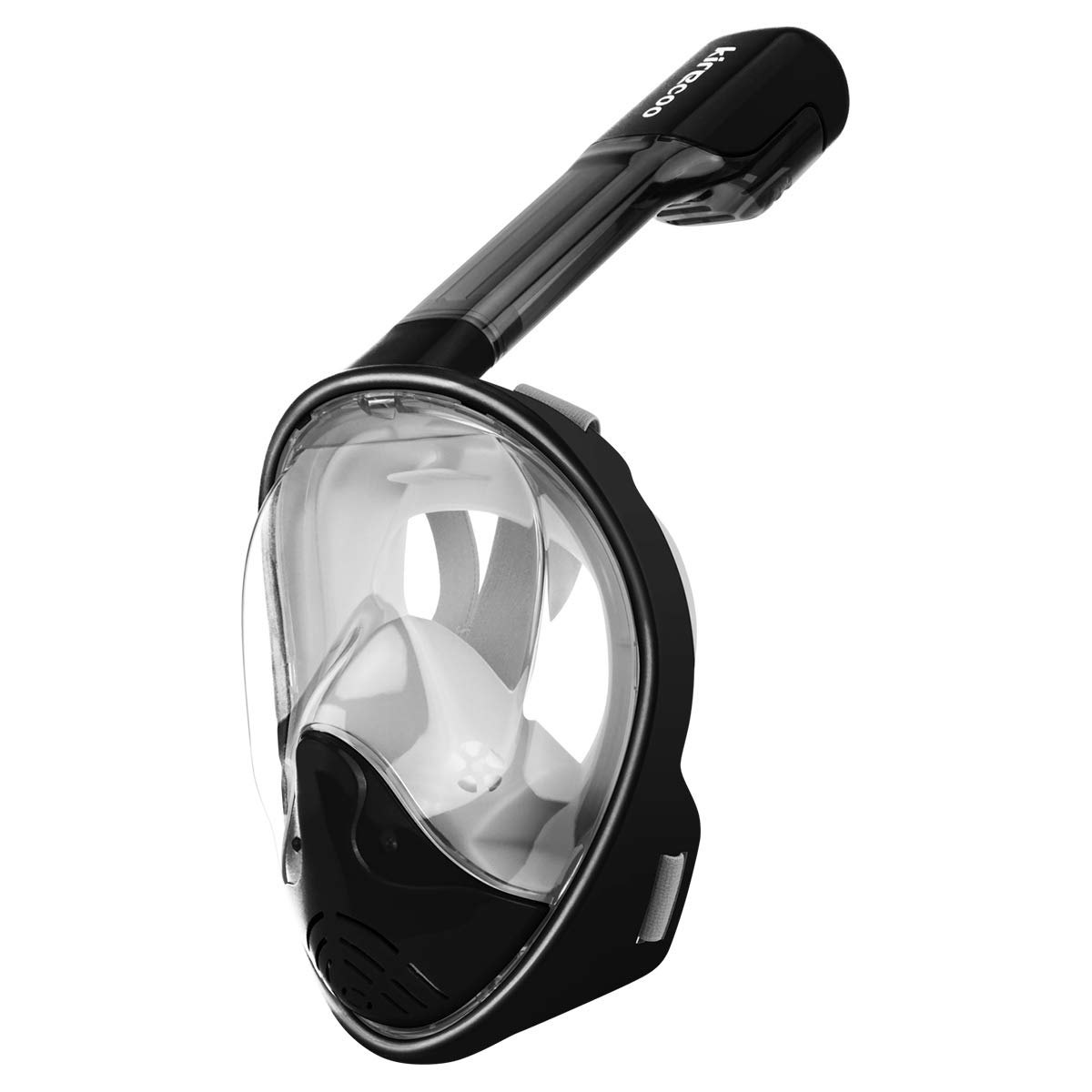 180/° Full Face Snorkel Mask Anti-Fog Anti-Leak Panoramic Large View with Go Pro Mount for Adults Youth Kids