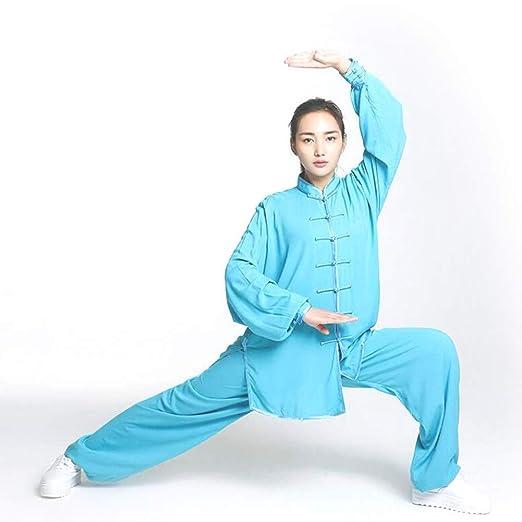 Mujeres Tai Chi Traje Uniforme De Artes Marciales Ropa De Kung Fu Chino Cotton Wing Chun Ropa Profesional Y Cómodo, Ropa De Tai Chi para El Ejercicio ...