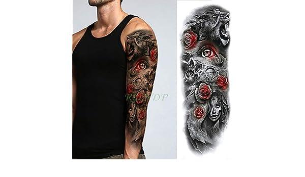 ljmljm 5 Piezas Pegatinas de Tatuaje a Prueba de Agua Lady Peach ...