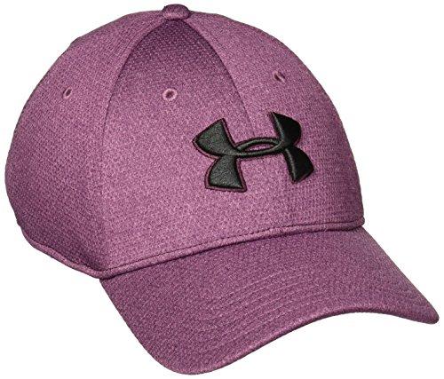 - Under Armour Men's Heather Blitzing Cap Raisin Red/Raisin Red/Black Hat