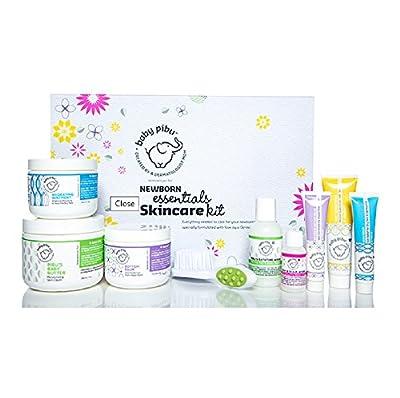 baby pibu Newborn Essentials Skincare Kit - 9 pc