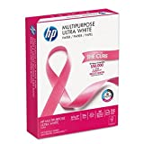 HP Printer Paper Multipurpose20 LETTER 20lb 96-Bright 500-Sheets 1-Ream Deal (Small Image)