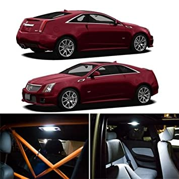 Amazon Com Cadillac Cts Cts V Interior Package Led Lights Kit Smd