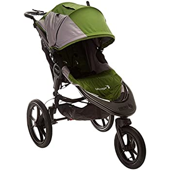 Baby Jogger 2016 Summit X3 Single Jogging Stroller - Green/Gray