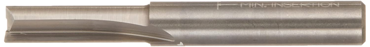 Dia. Double Flute Straight Bit with 1//4 Shank Freud 18mm 04-548