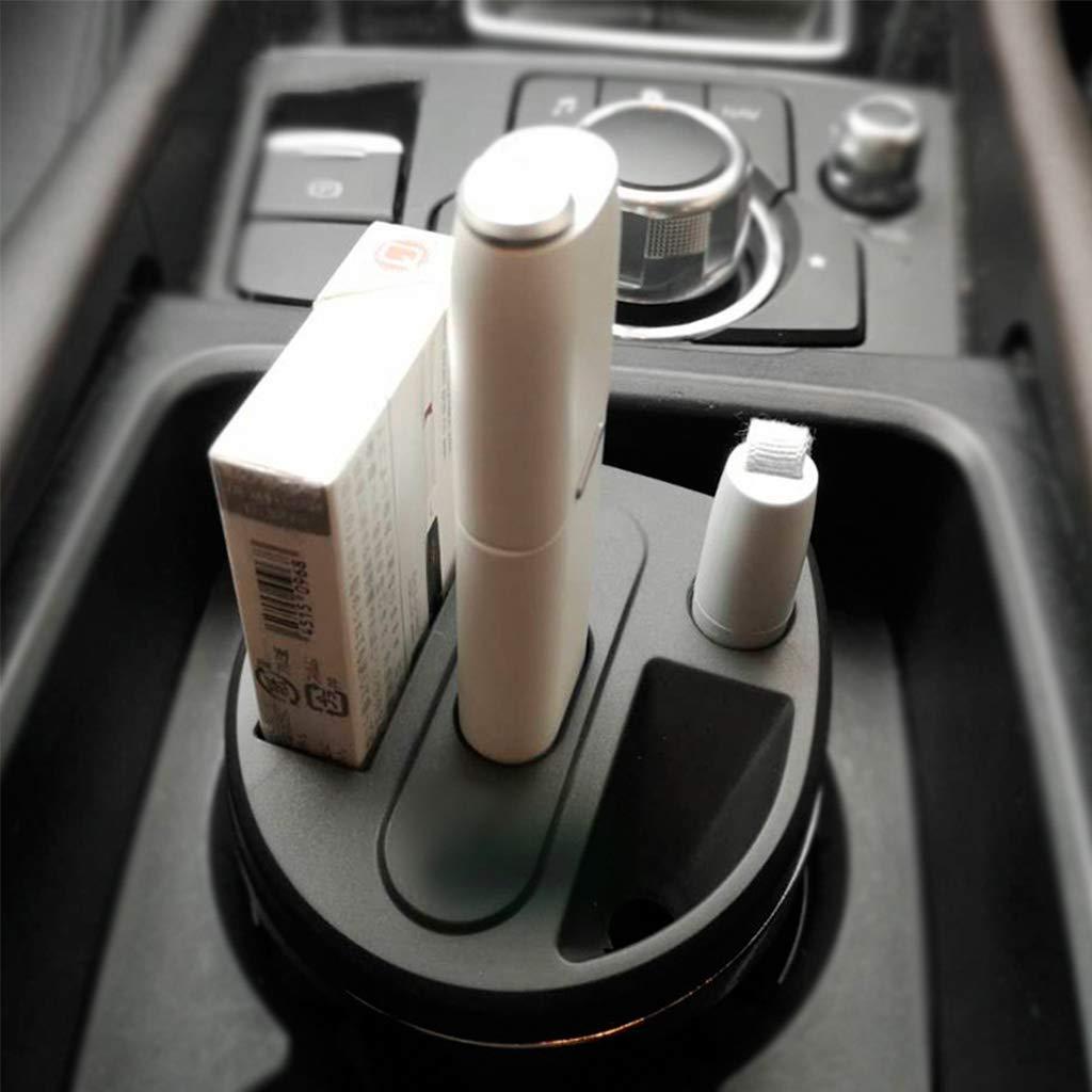 Mayoaoa Auto Ladeger/ät E-Zigarettenspitze Aschenbecher Typ C Port Organizer Tragbarer Splitter Multi Elektronische Zigarette