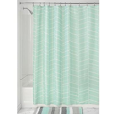 InterDesign Nora Fabric Shower Curtain -  - shower-curtains, bathroom-linens, bathroom - 51N0xrF9QPL. SS400  -