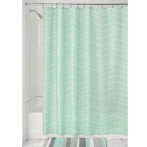 51N0xrF9QPL - InterDesign Nora Fabric Shower Curtain