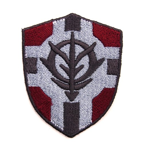Mobile Suit Gundam The Principality of Zeon Flag Vertical Removable Emblem
