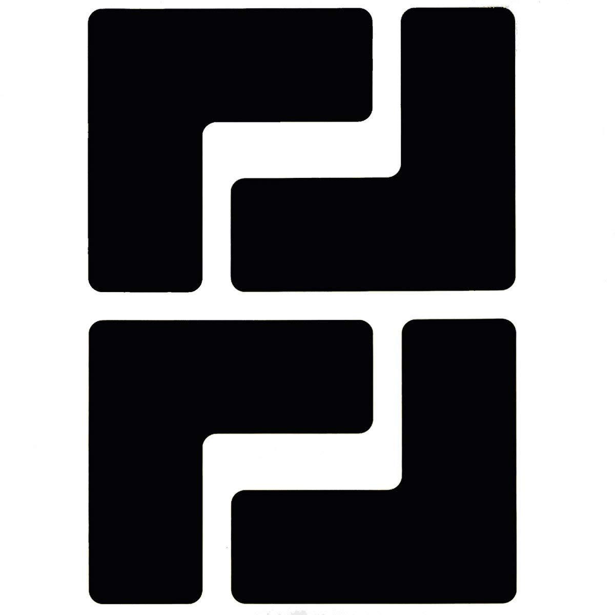 Brady 2'' Black .008'' B-514 Polyester Floor Marking Tape by Brady USA