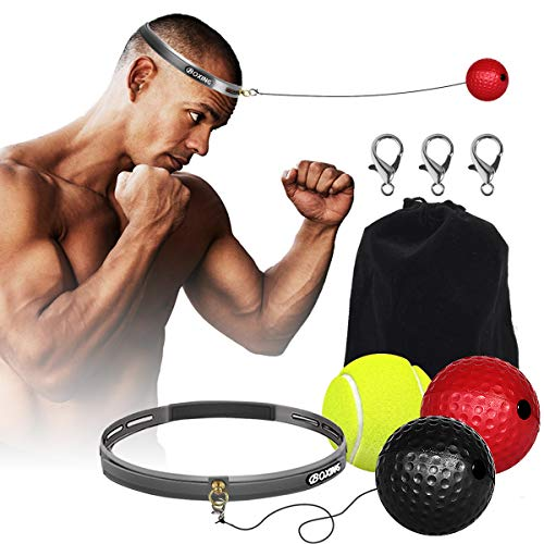 Boxing Fight Ball Reflex for Improving Speed Reactions and Hand Eye Coordination£¬Boxing Punch Equipment for Boxing, MMA…