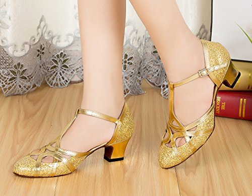 Heel Glitter 5cm MGM Moderno Joymod e Jazz Gold Donna g7q876w