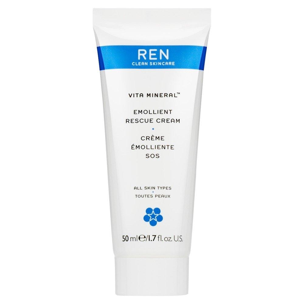 Renヴィータミネラルレスキュークリーム、50ミリリットル (REN) (x6) - REN Vita Mineral Rescue Cream, 50ml (Pack of 6) [並行輸入品] B01MSII8ZL