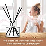 Cocod'or Signature Reed Diffuser, Lovely Peony Reed Diffuser, Reed Diffuser Set, Oil Diffuser & Reed Diffuser Sticks, Home Decor & Office Decor, Fragrance and Gifts, 6.7oz