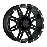 Pro Comp Wheels 7031-5865 Xtreme Alloys Series 7031 with  5x4.5 Bolt Pattern (Flat Black Finish)