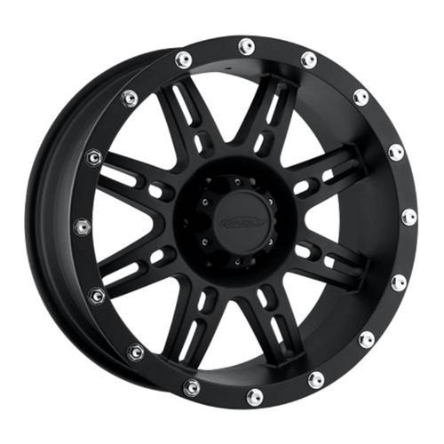 Pro Comp Xtreme Alloys - Pro Comp Wheels 7031-5865 Xtreme Alloys Series 7031 Black Finish Size 15x8 Bolt Pattern 5x4.5 in. Back Space 3.75 in. Offset -19 Max Load 2200 Xtreme Alloys Series 7031 Black Finish