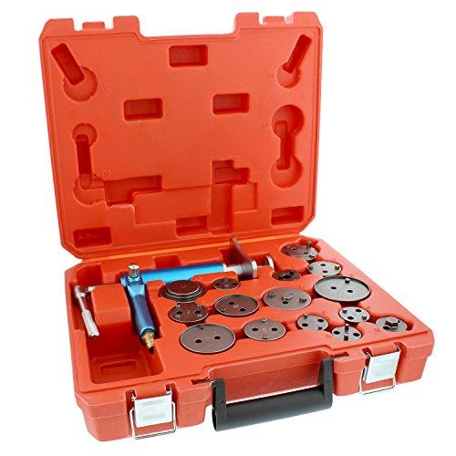 ABN Caliper Piston Compressor Tool 16-pc Pneumatic Brake Caliper Tool Air Brake Tools Brake Caliper Compressor Tool by ABN