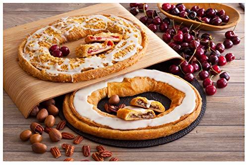 Danish Kringle Pair - Cherry Cheese & Pecan, Danish Pastry, Food Gift, Dessert (Best Kringle In Wisconsin)