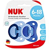 NUK Fashion Silicone Soother, Age 6-18m - Boy