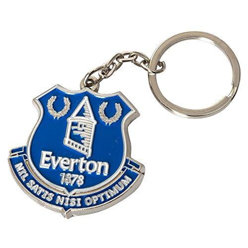 Everton Fc Crest (EVERTON FC Official Crest Keyring Metal Keychain)