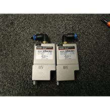 Pair of SMC Air Operated Valves VOA301
