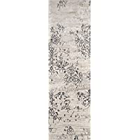 Momeni Rugs JULIEJU-04IVY2376 Juliet Collection Transitional Runner Area Rug, 2'3' x 7'6', Ivory