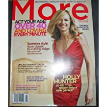 More Magazine July/august 2007: Holly Hunter