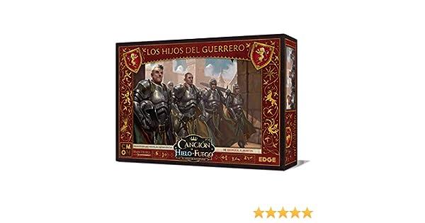 Edge Entertainment- Canción de hielo y fuego el juego de miniaturas - Los Hijos del Guerrero, Color (EECMSI27): Amazon.es: Juguetes y juegos