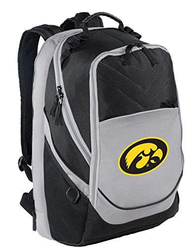 - Broad Bay University of Iowa Backpack Iowa Hawkeyes Laptop Computer Bag