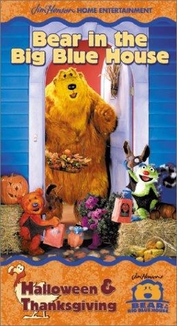 Bear in the Big Blue House - Halloween & Thanksgiving (Halloween Vhs)