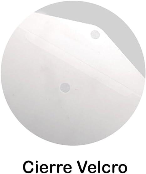 MP PC019 A4 Carpeta transparente con bot/ón
