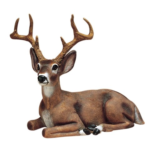 Sculptural Gardens by Heritage Farms Small Buck Statuary For Sale