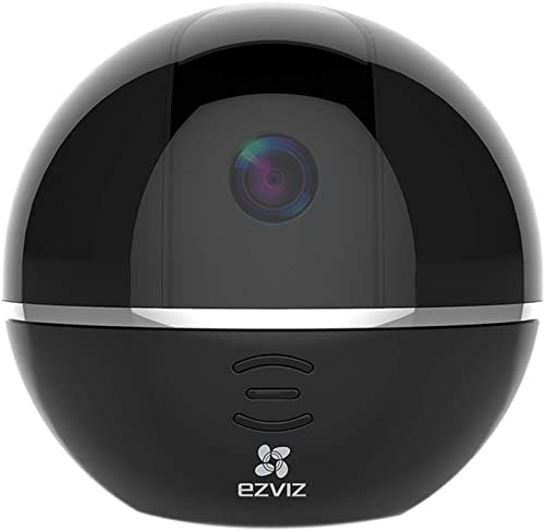 EZVIZ Pan Tilt Camera 1080p 360 Rotating Dome Security Surveillance Night Vision Auto Motion Tracking Pet Baby Monitor Two Way Audio Works with Alexa WiFi 2.4G Only BK CTQ6TC
